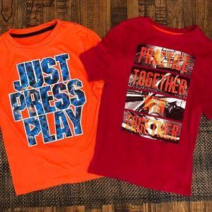 2 Boy's Champion T-shirt's Size XS(4-5).